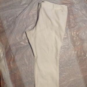 Worthington Plus ivory White dress pants 24w